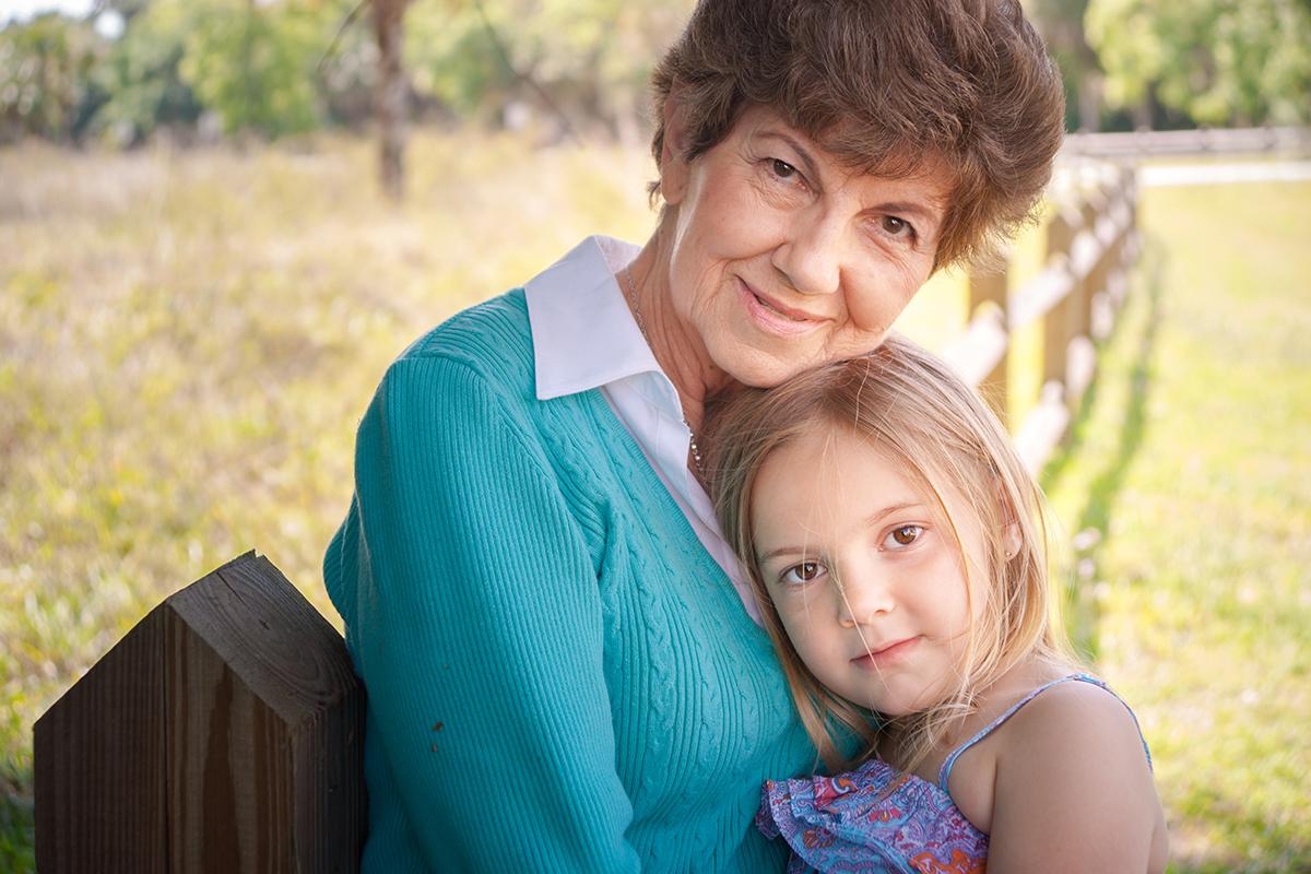 GRANDMA AND HER GRAND DAUGHTER